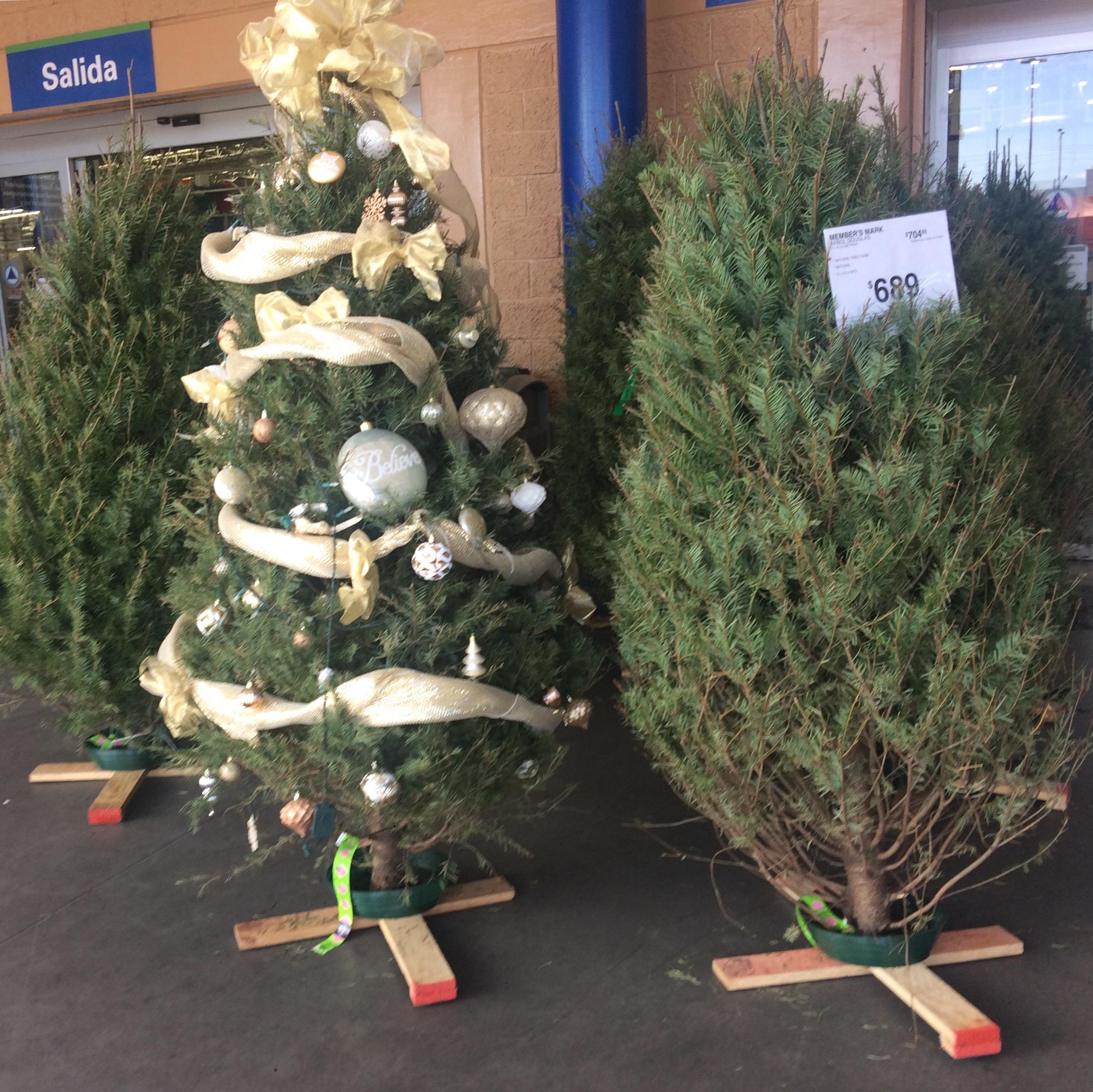 Walmart y sam 39 s club ofertas rboles naturales de navidad - Arboles de navidad precios ...
