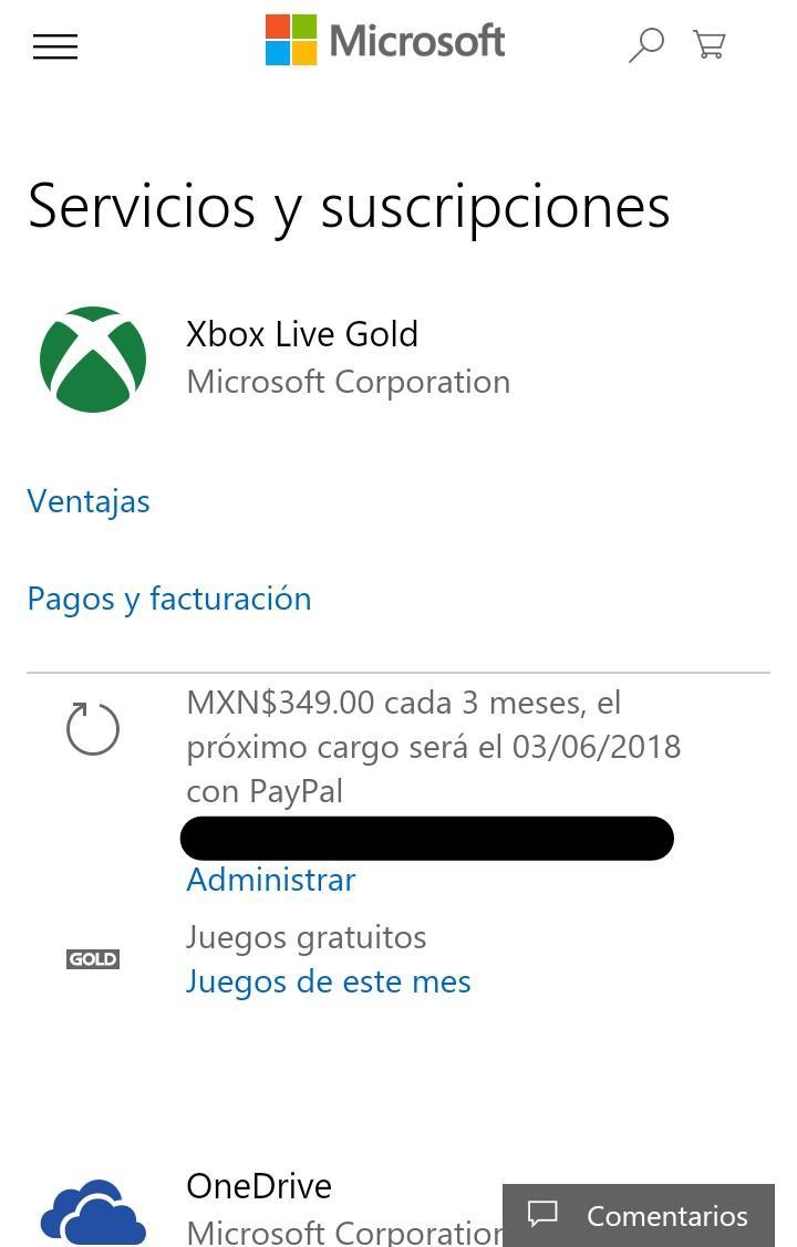 Xbox 1 Mes Gratis A Xbox Live Gold Al Renovar Tu Suscripcion Con