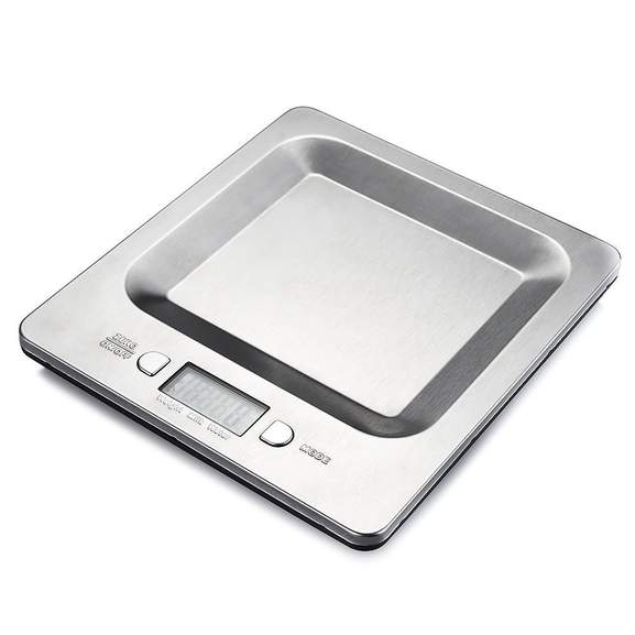 Amazon b scula digital de cocina acero inoxidable 4 for Bascula cocina amazon