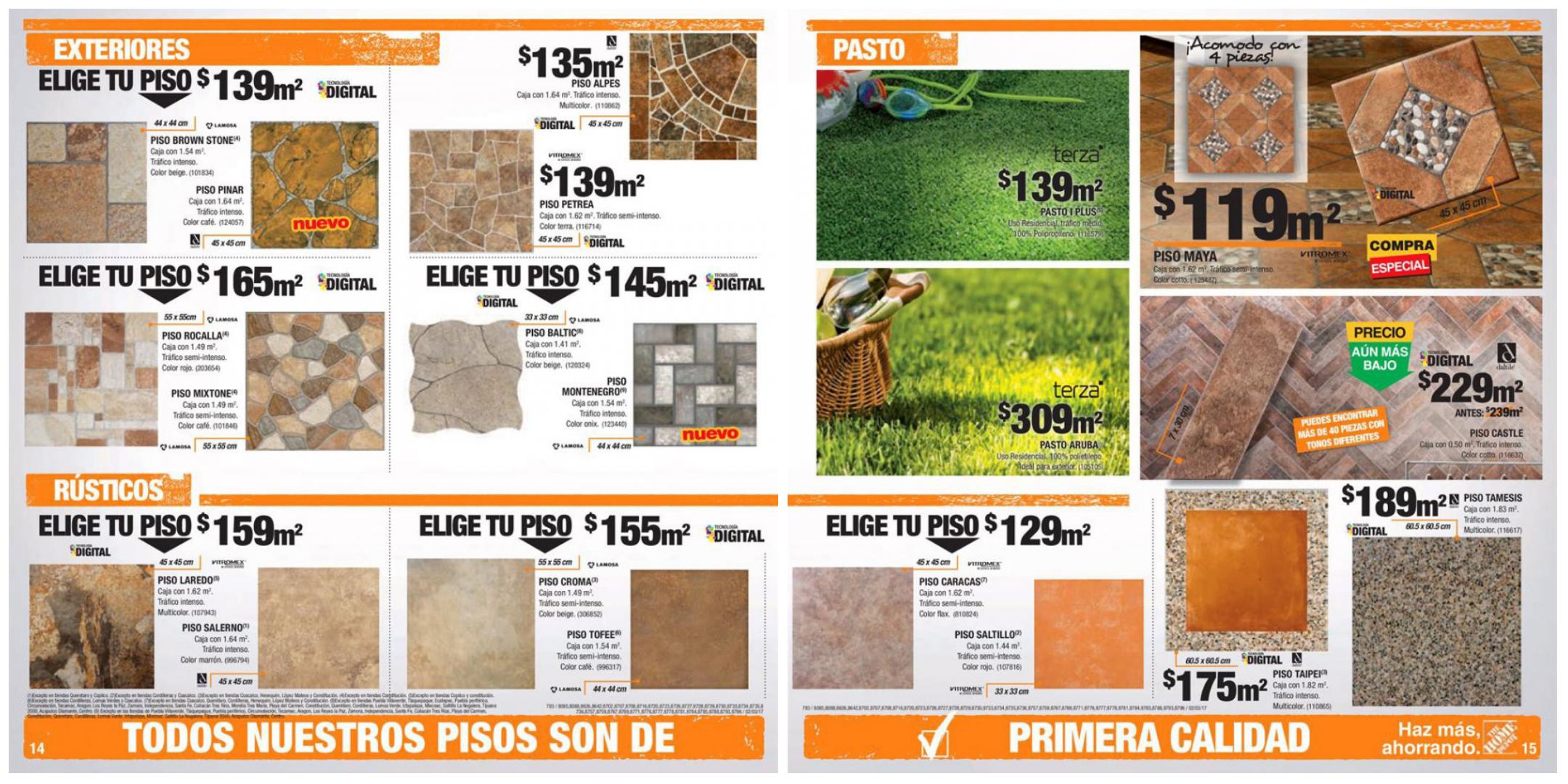 Home depot promociones de pisos for The home depot pisos
