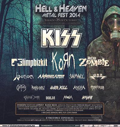 Ddescuento para  boleto del Hell and Heaven 2014