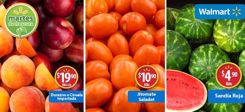 Martes de frescura en Walmart octubre 7: sandía $5 el kilo y más