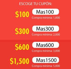 Linio: cupones de descuento: ejemplo iPad Air $5,689, iPhone 5C $6,669