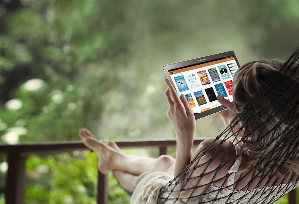 Kindle para Samsung: libro gratis al mes
