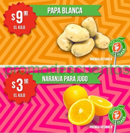 Miércoles de Plaza en La Comer octubre 8: naranja $3.50 el kilo y más