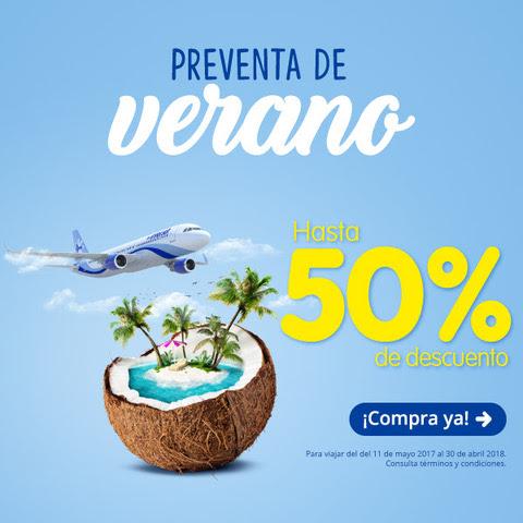 Interjet: hasta 50% en rutas seleccionadas