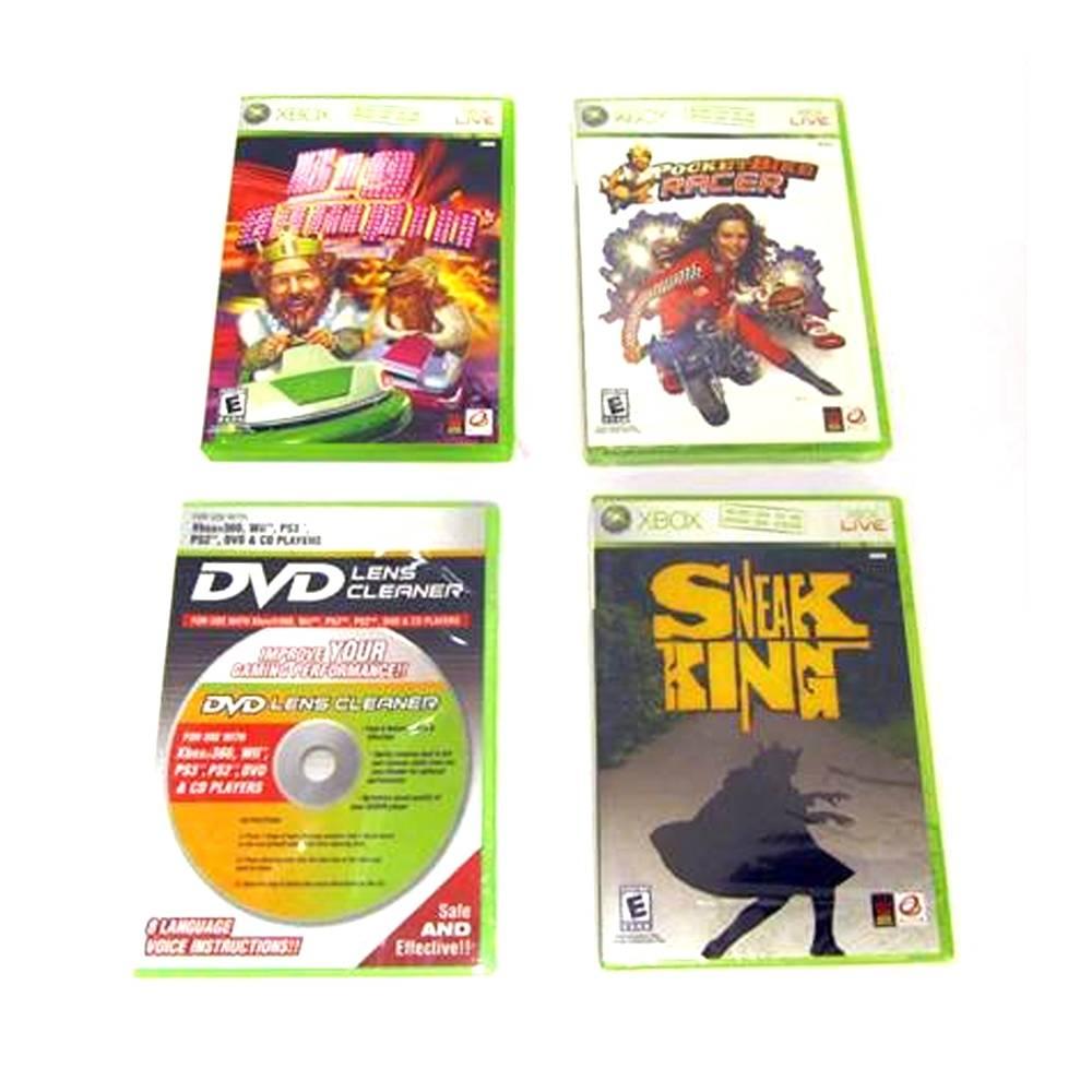 Walmart: paquete de 3 juegos para Xbox 360 y limpiador de lente $90