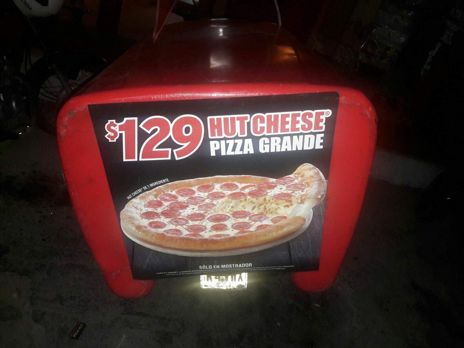 Pizza Hut: Hut cheese de un ingrediente 129