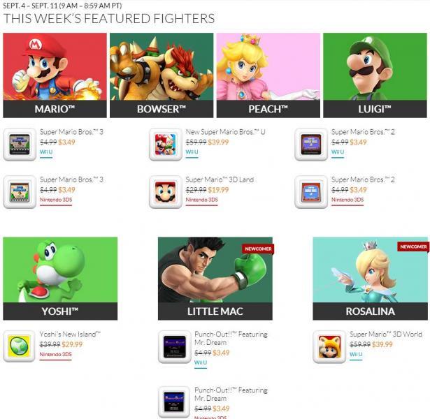 Nintendo: descuentos en juegos de Mario, Zelda, Mega Man, Metroid, Pokemon y más