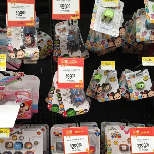 Walmart: oferta! Tsum tsum de $169 a $99 pesos