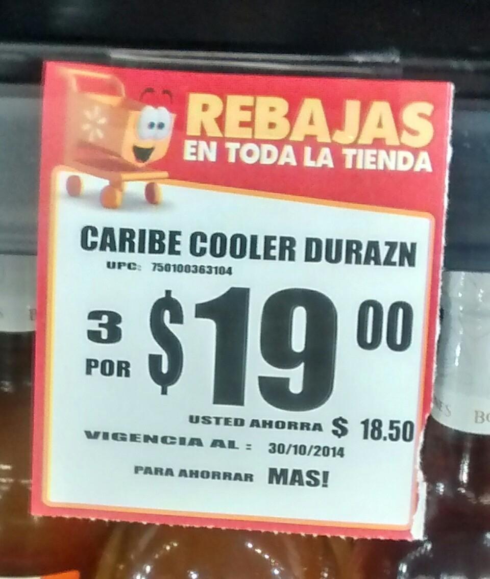 Walmart: Caribe Cooler 3 x $19