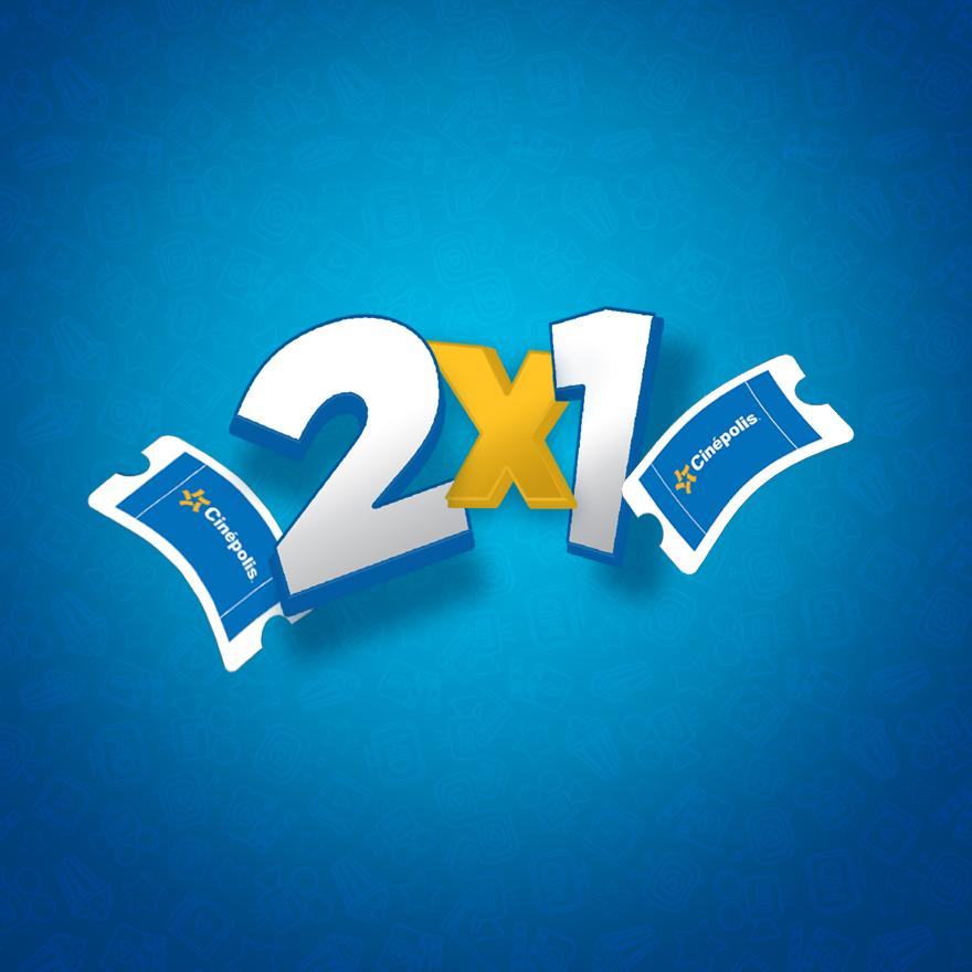 Cinepolis: 2x1 para este viernes 19 de Mayo para todos los formatos