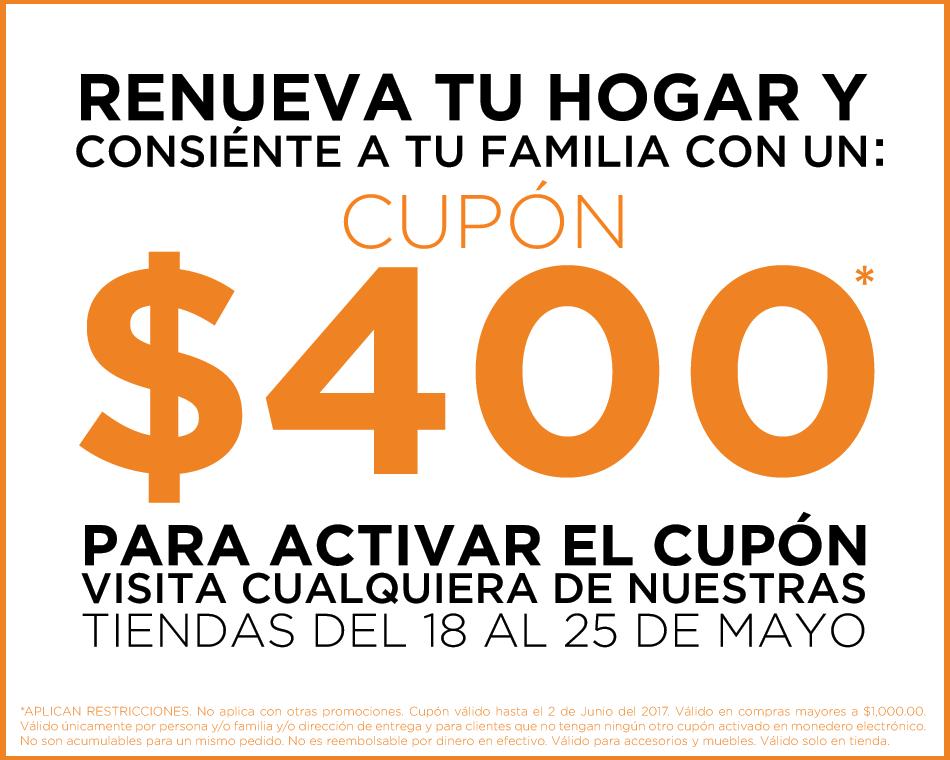 Muebles Pergo: $400 de descuento en compras mínimas de $1000