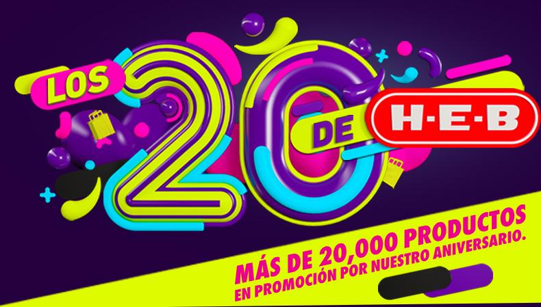 HEB en tienda e internet: Los 20 de HEB del 19 al 25 de mayo del 2017