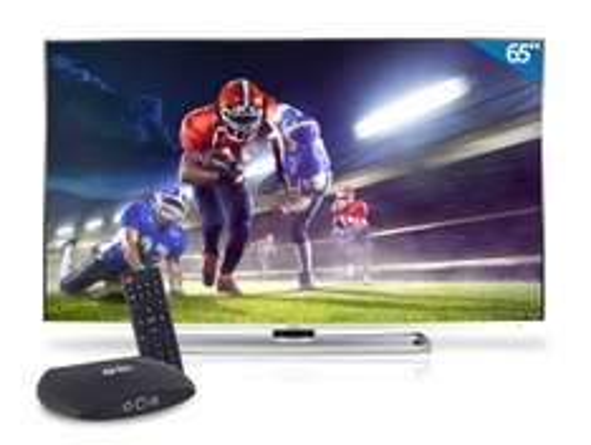 """HEB en línea: Pantalla 4K + Smart Tv Box Ghia Haier 65""""  LE65H6600U"""