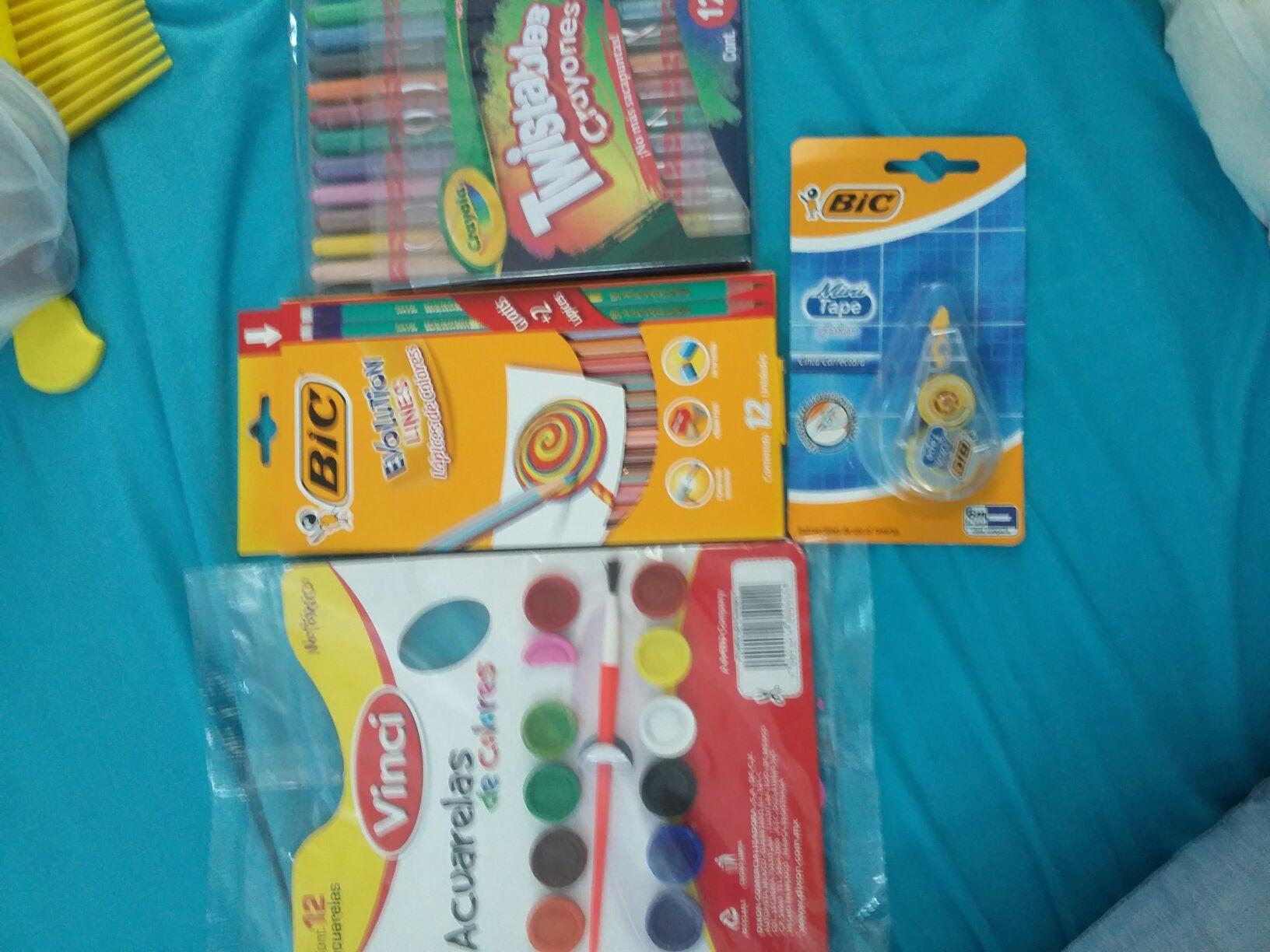 Chedraui: Varios artículos de papelería, Crayola twistables a $13.90 y más