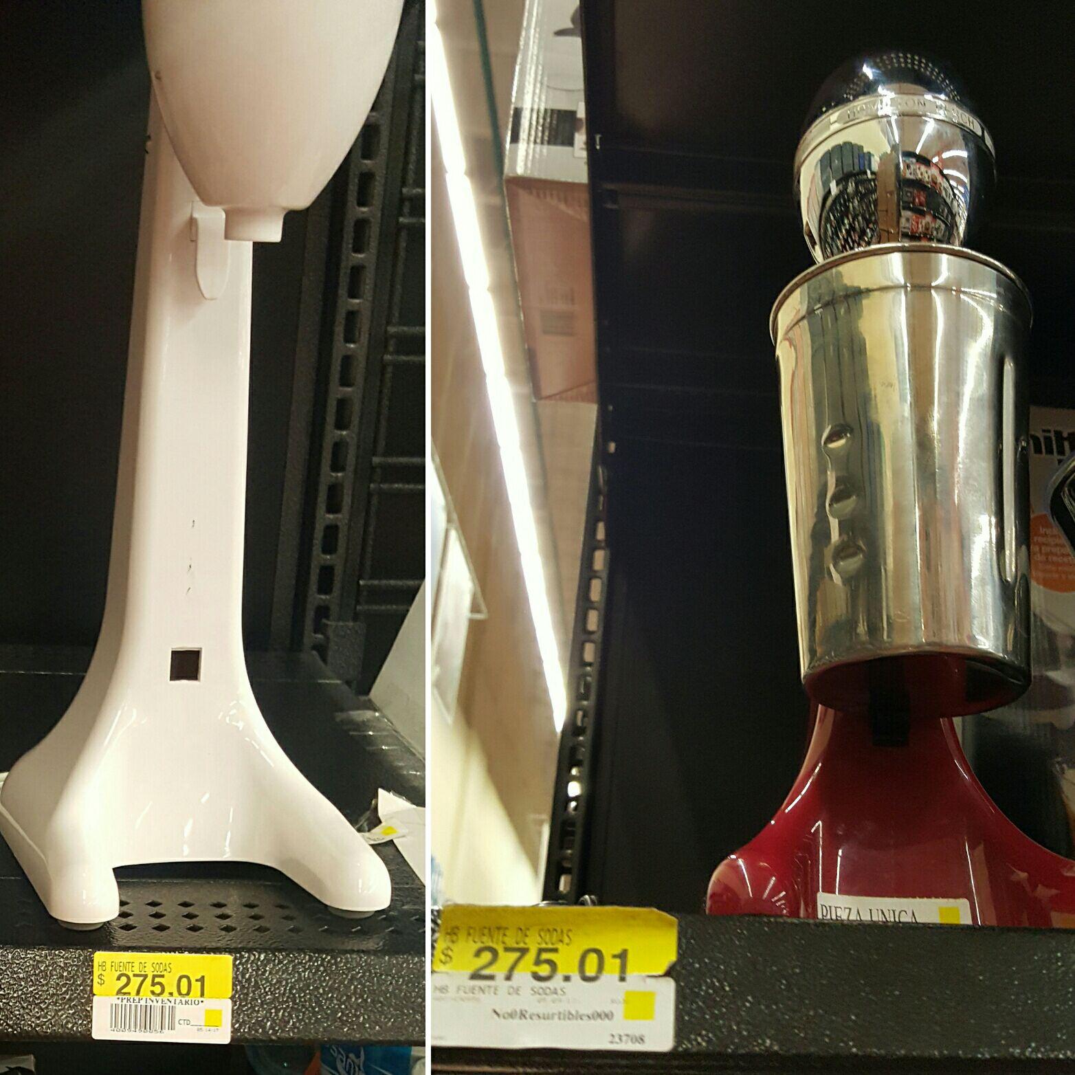 Walmart Copilco: fuente de sodas Hamilton a $275.01