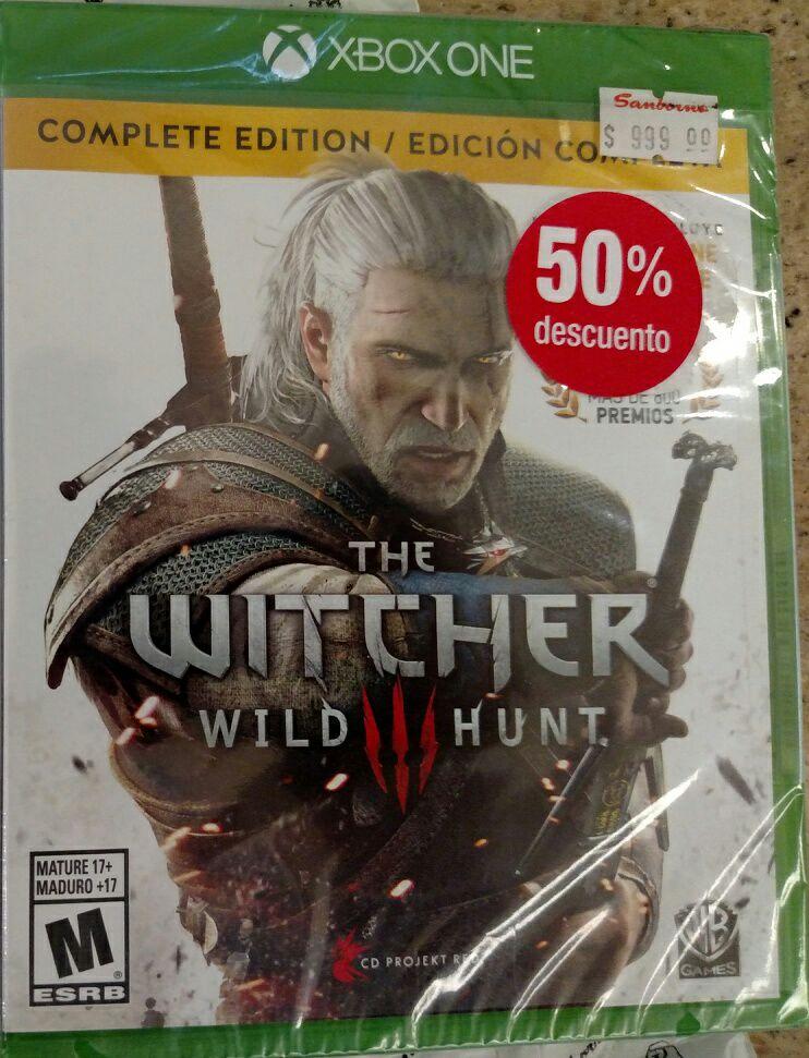 Sanborns Universidad: The Witcher 3 Wild Hunt Complete Edition
