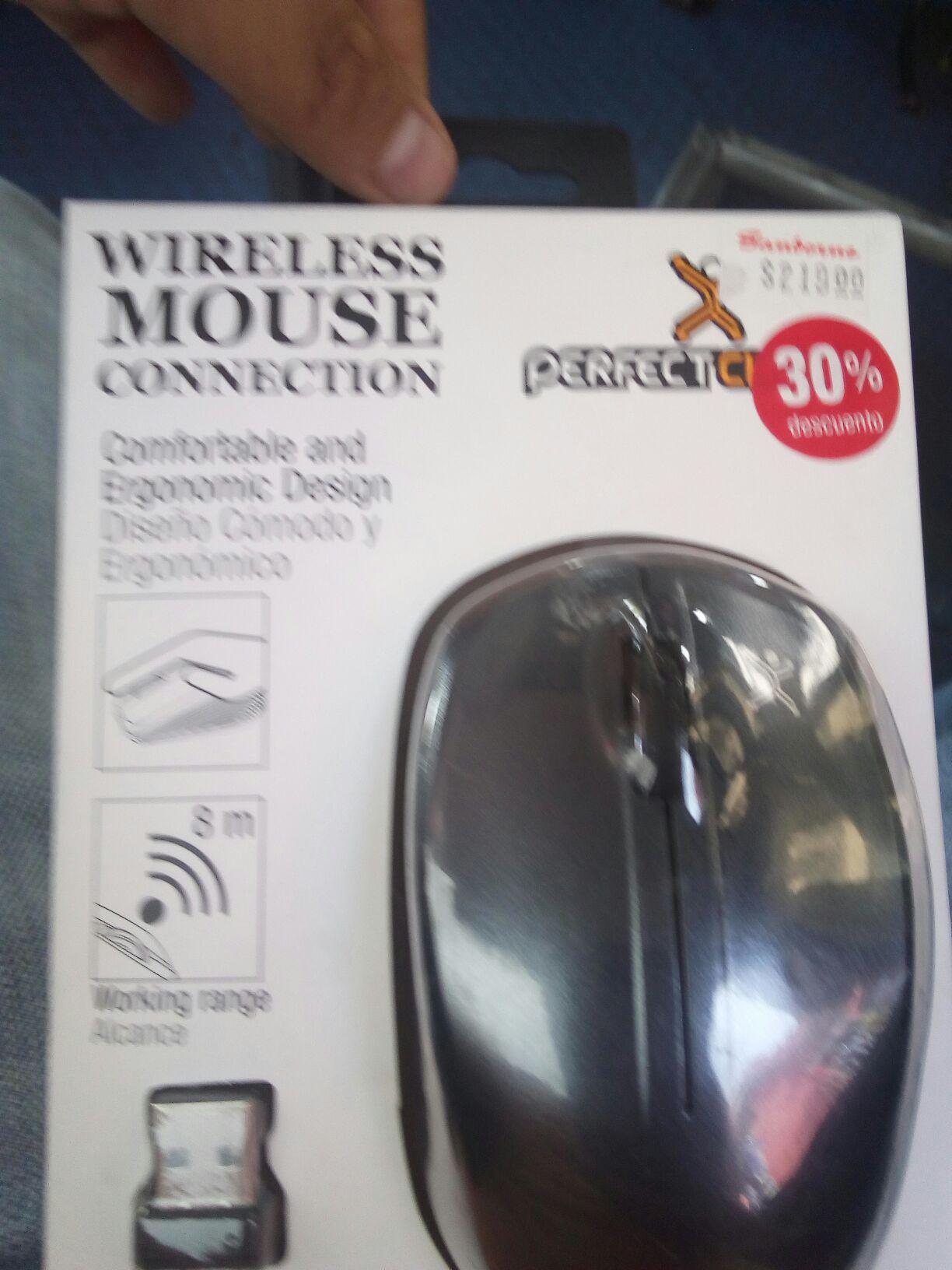 Sanborns: Mouse inalámbrico Perfect Choise 30% de descuento