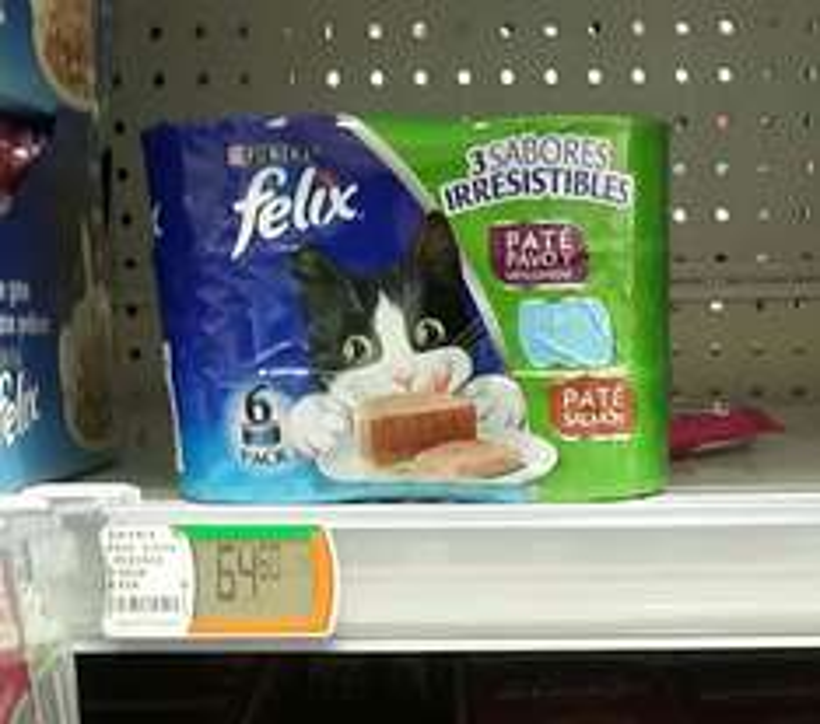 Comercial Mexicana: Six pack de comida para gato Felix
