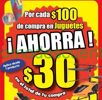 HEB: $30 de descuento por cada $100 en juguetes y ofertas de frutas y verduras