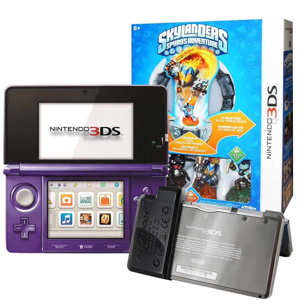 Walmart: consola 3DS más juego Skylanders y batería adicional