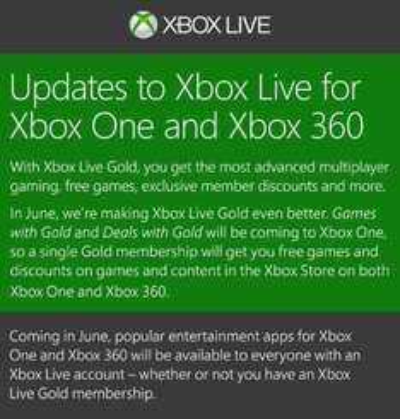 Juegos gratis para Xbox Live Gold en junio: 3 para Xbox 360 y 2 para Xbox One
