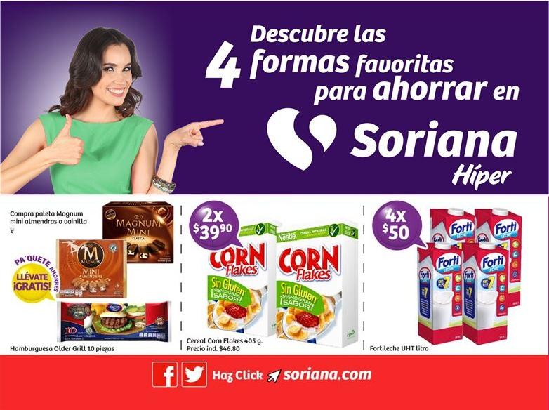 Soriana Híper: Folleto de Ofertas del Martes 23 al Jueves 25 Mayo