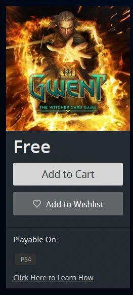Playstation Network: Beta Gwent y goodies gratis