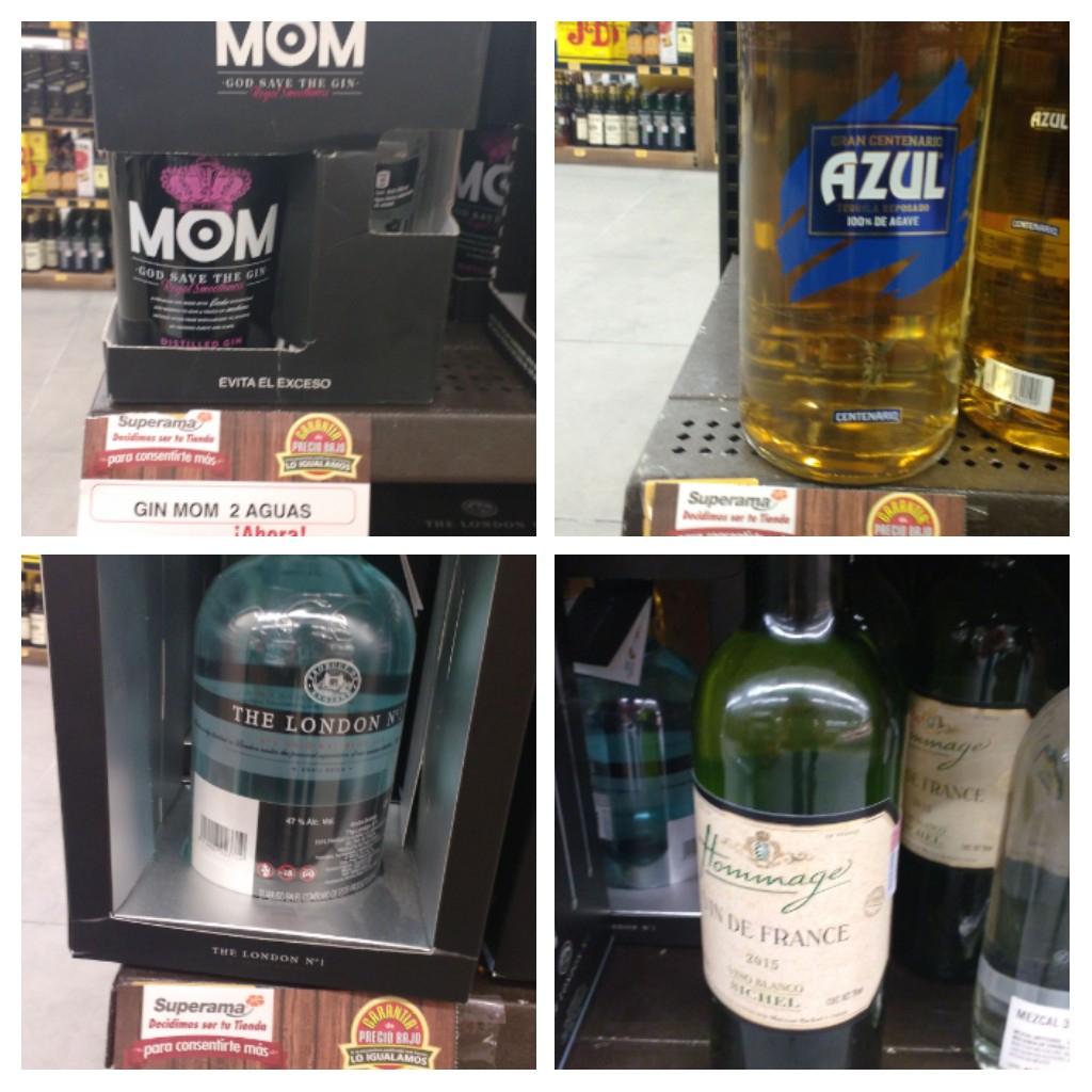 Superama Vhsa: Vino Bco. Francés: $24.01, Tequila Gran centenario 1.75 lts. : $145.02 y mas!!!