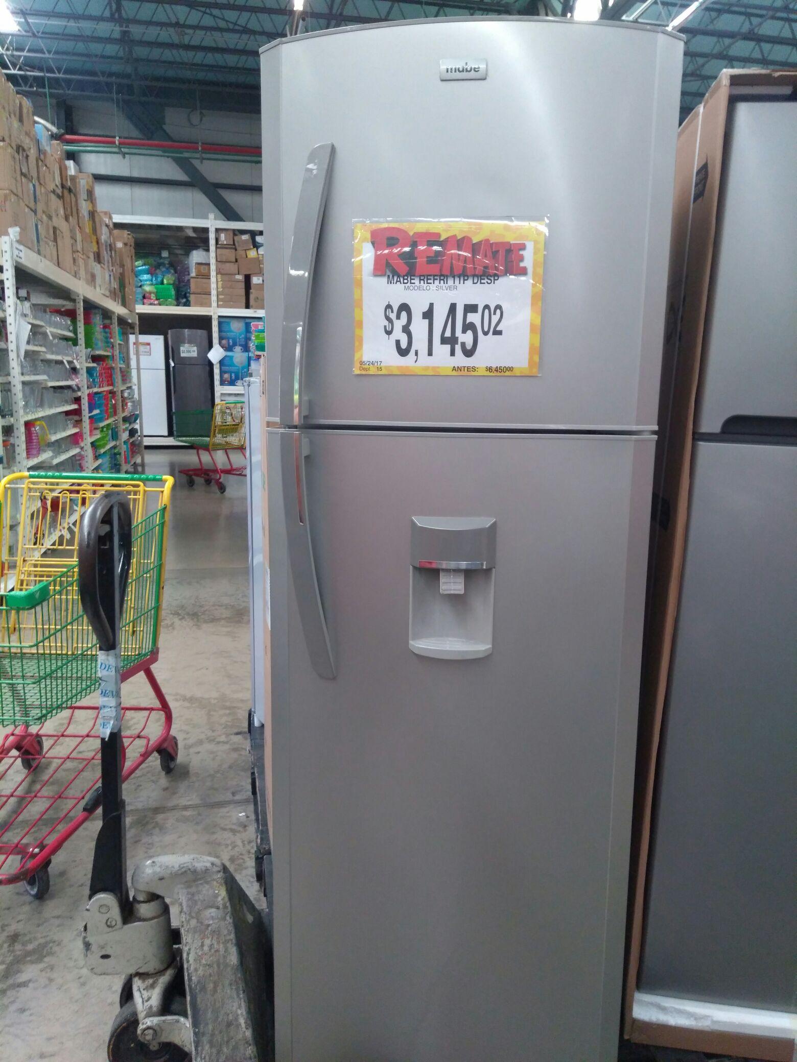 Bodega Aurrerá mid: refrigerador Mabe 11 pies con dispensador de agua