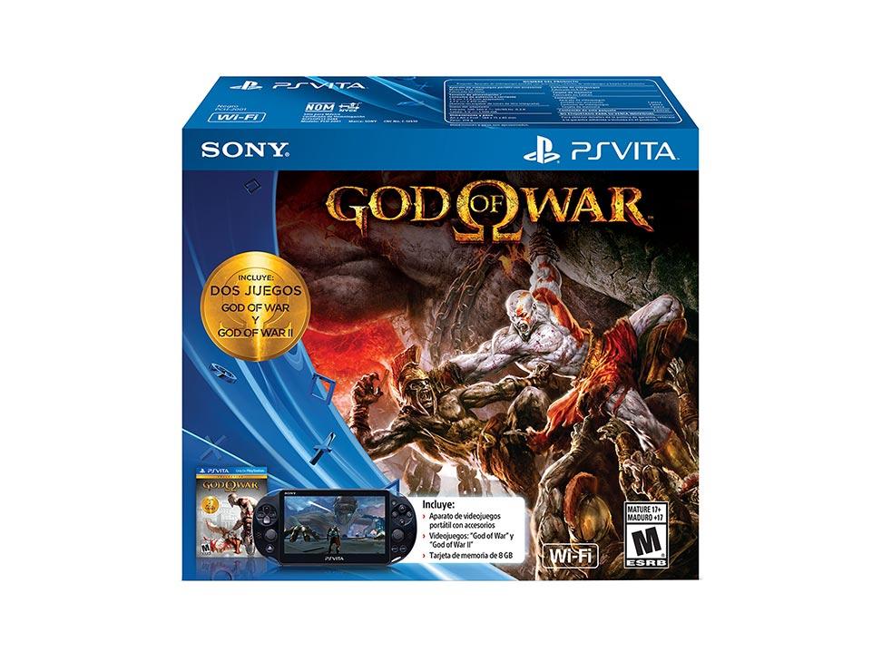 PS Vita edición God of War desde $3,290 después de bonificaciones