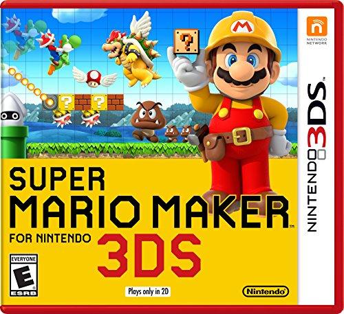 Amazon: Super Mario Maker para Nintendo 3DS