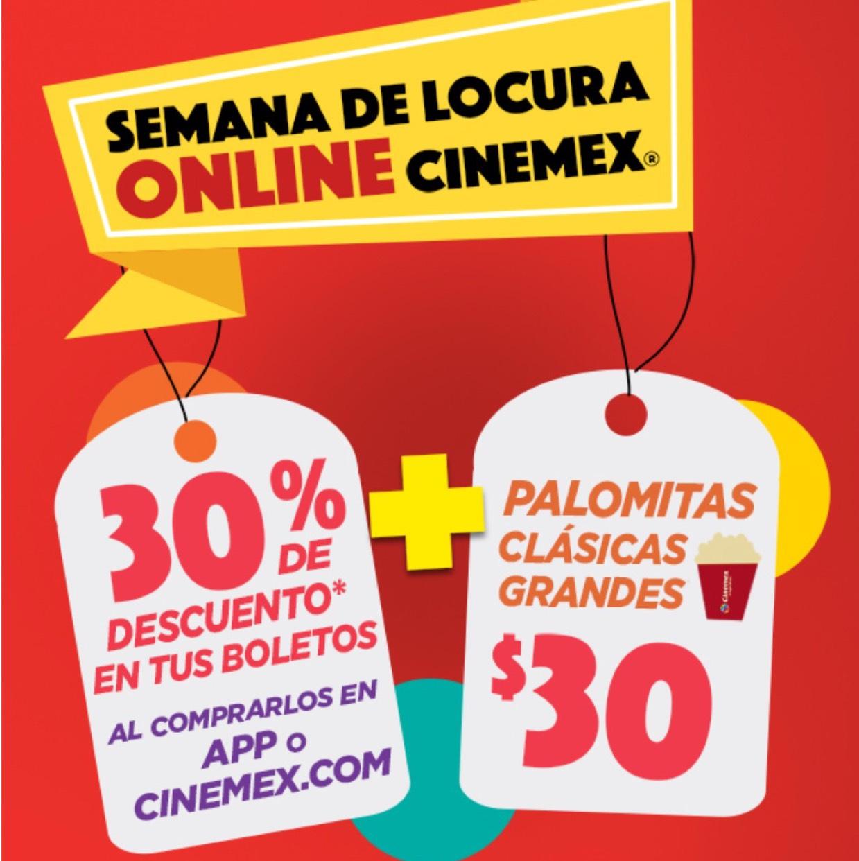 Hot Sale 2017 en Cinemex: 30% de descuento en boletos