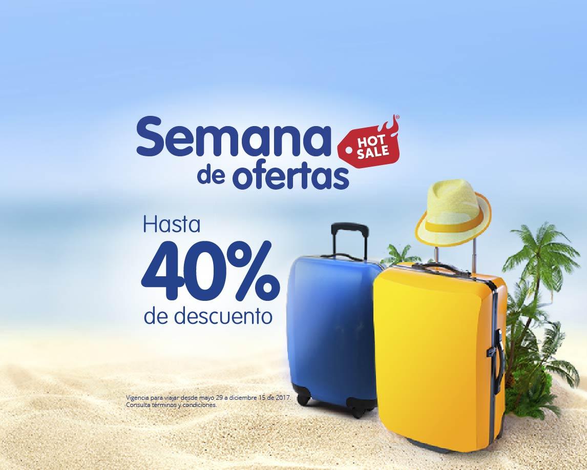 Hot Sale 2017 en Interjet: Semana de ofertas hasta 40% de descuento