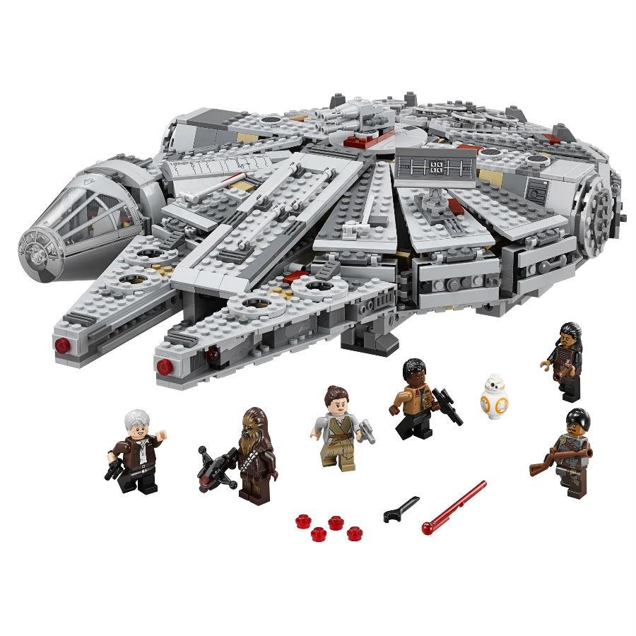 Hot Sale 2017 Woolworth: Hasta 60% de descuento en Juguetería, ejemplo Star Wars TM Millennium Falcon™ LEGO a $2,159