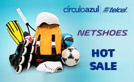 Hot Sale 2017 en NETSHOES: $200 descuento + otras promociones