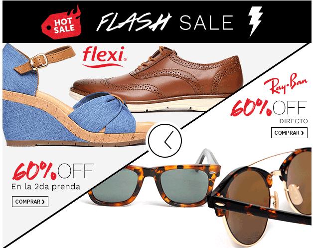 Hot Sale en Ösom Flash Sale: 60% de desceunto en Ray Ban