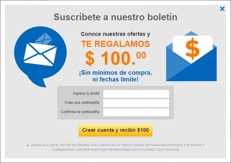 Cyberpuerta: Cupon de $100 sin monto minimo de compra