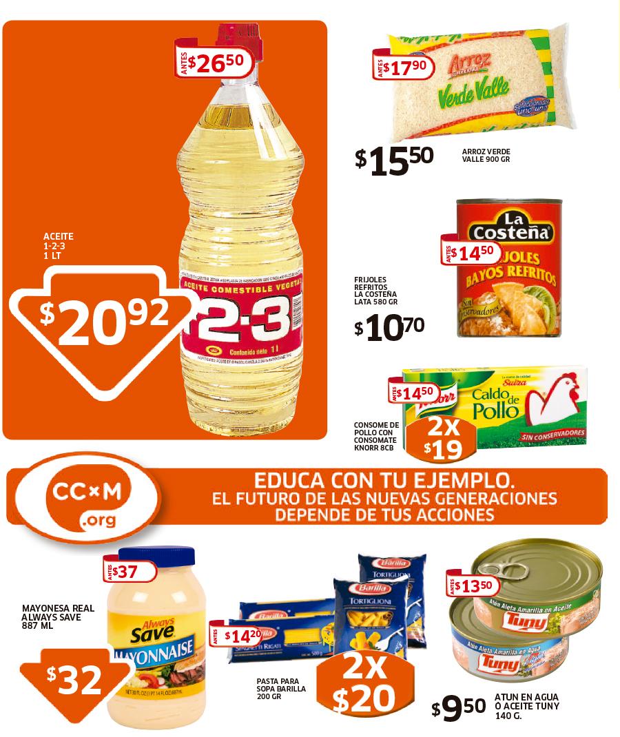 Folleto de Soriana Hiper: 20% de descuento en dulces Sonric's y más