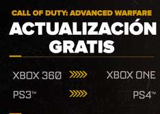 COD: Advanced Warfare para PS4/XONE gratis comprando para PS3/X360