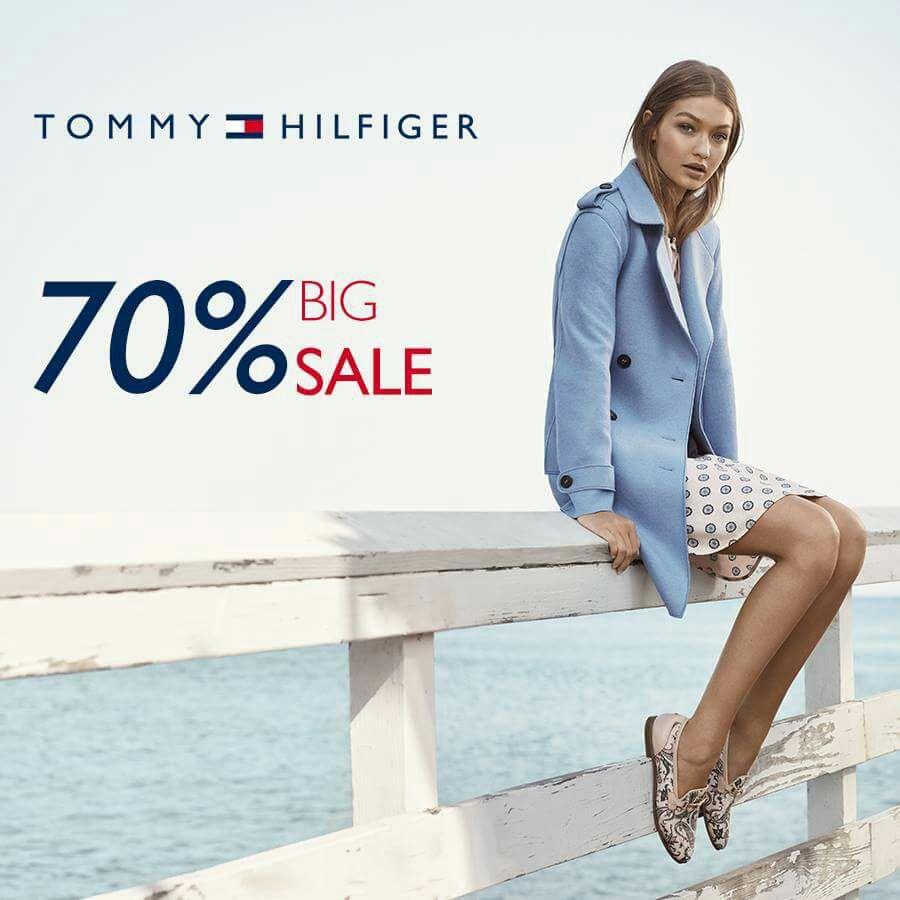 Ösom: Tommy Hilfiger - 70 % Big Sale