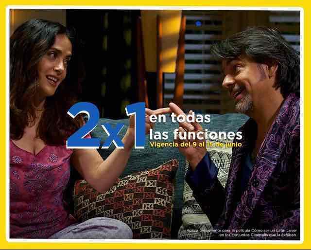 """Cinépolis: 2x1 en todas las funciones de """"Como ser un latín lover"""" 9-15 de junio"""