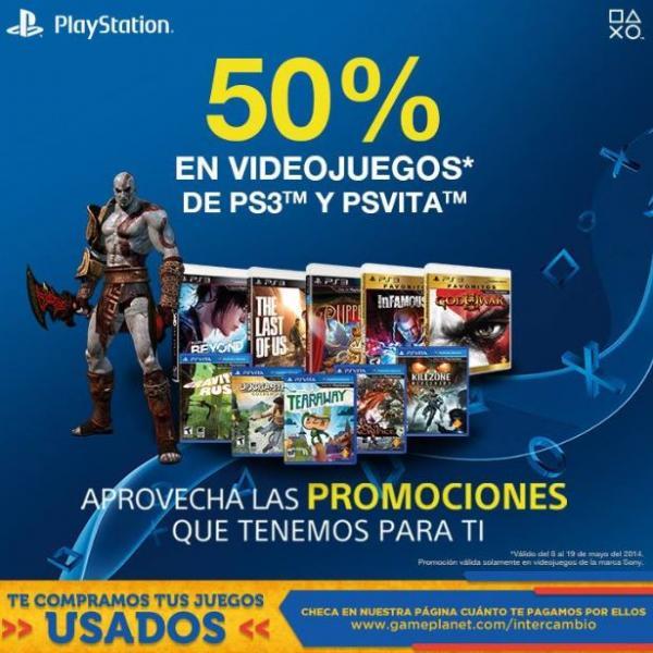 Game Planet: hasta 50% de descuento en juegos de Sony