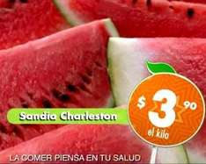 Miércoles de Plaza en La Comer mayo 7: sandía $3.90 el kilo y más