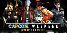 Humble Store: Capcom Weekend Hasta 80% de Descuento (PC, Steam Keys)