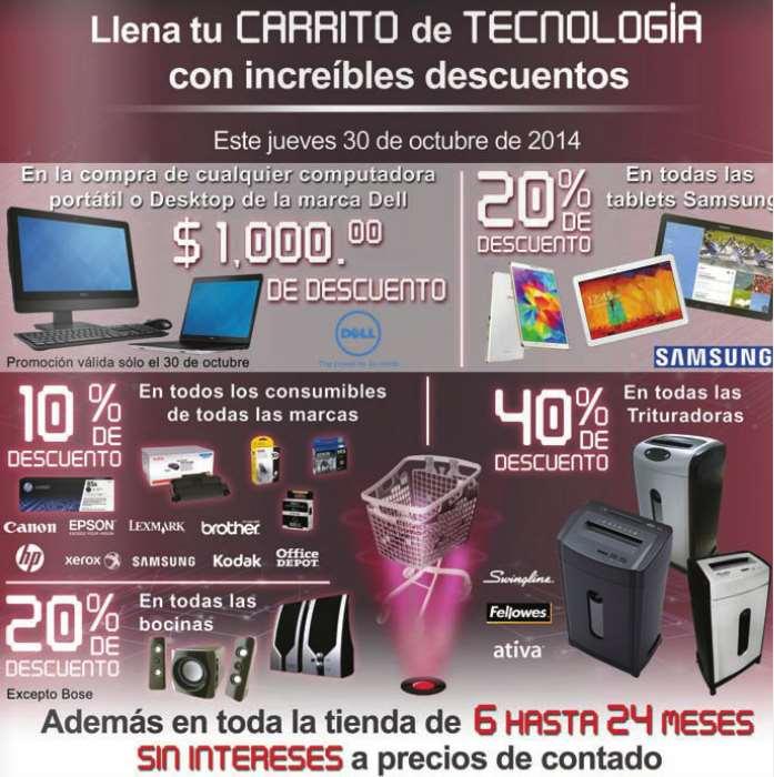 Office Depot: venta especial de tecnología