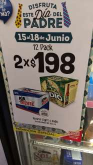 Oxxo Nuevo Laredo: 24 Cheves de botella por 198 pesitos