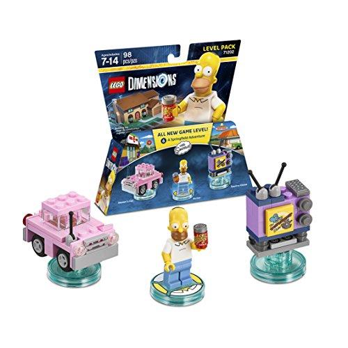 Amazon MX: LEGO Dimensions Level Pack Simpsons - Simpsons Edition
