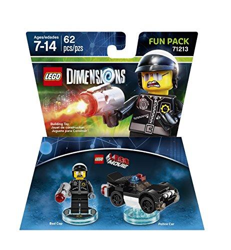 Amazon MX: LEGO Dimensions Fun Pack Movie Bad Cop - Movie Bad Cop Edition